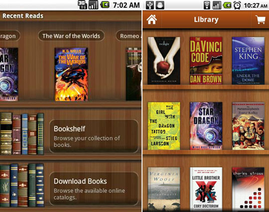 Android 220 Zerinden Kitap Okumak Yakuter