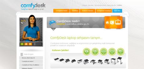 Comfydesk altsayfa