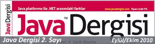 Java dergisi 2 sayı