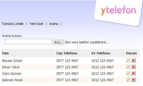 Yakuter Telefon Defteri