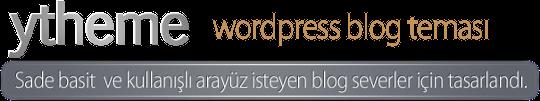 yTheme WordPress Teması